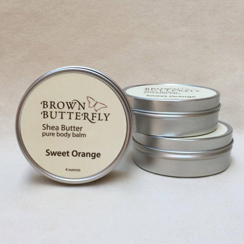 Sweet Orange Shea Butter 4 oz. image 0