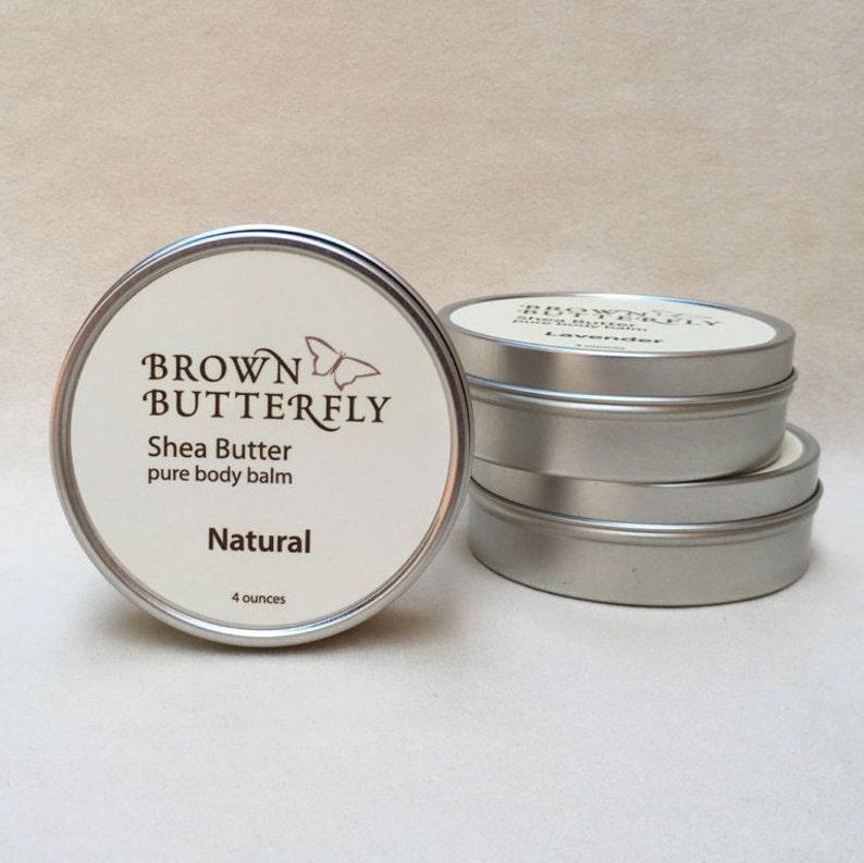 Natural Shea Butter 4 oz. image 0