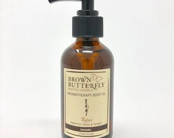 Relax Aromatherapy Body Oil