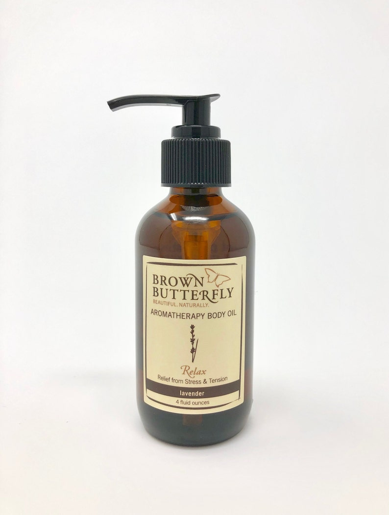Relax Aromatherapy Body Oil image 0