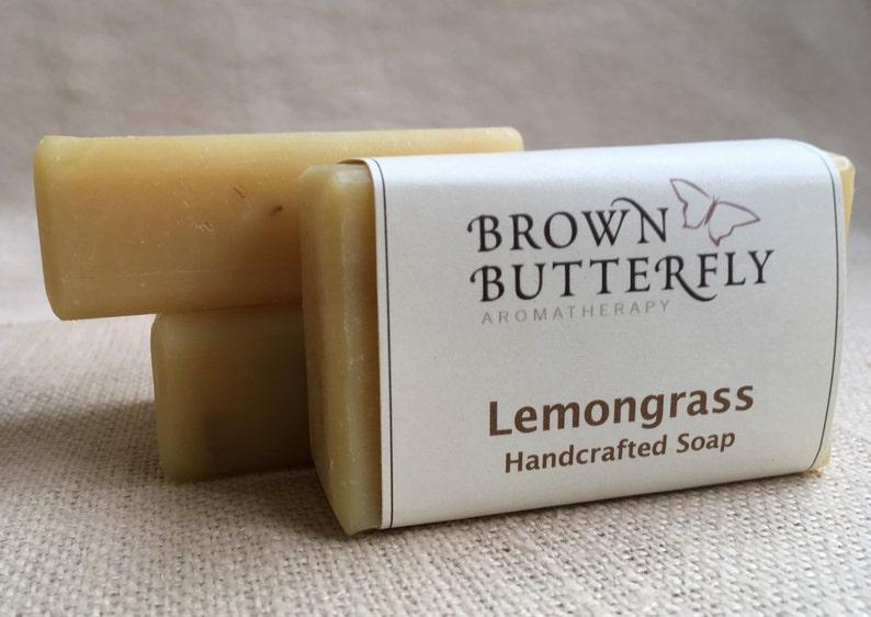 Handcrafted Lemongrass Soap image 0