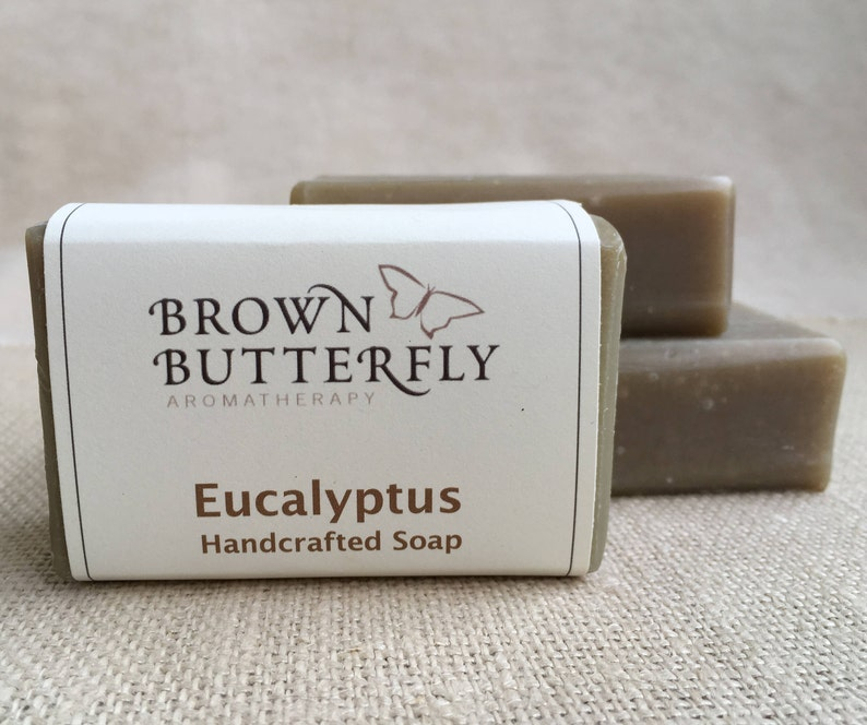 Handcrafted Eucalyptus Soap image 0