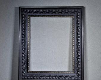 Black ornate frame Black Gold 16x20 Frame Black Ornate Gothic Wood With Optional Custom Matting Etsy Black Ornate Frame Etsy