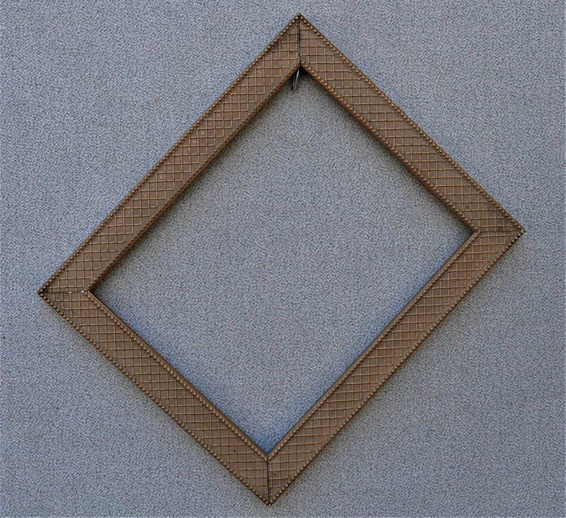 8x10 Frame Gold Ornate with Optional Glass and Custom Cut Matting