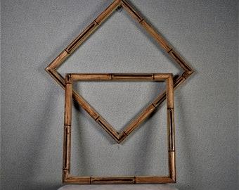 Bamboo Frame Etsy