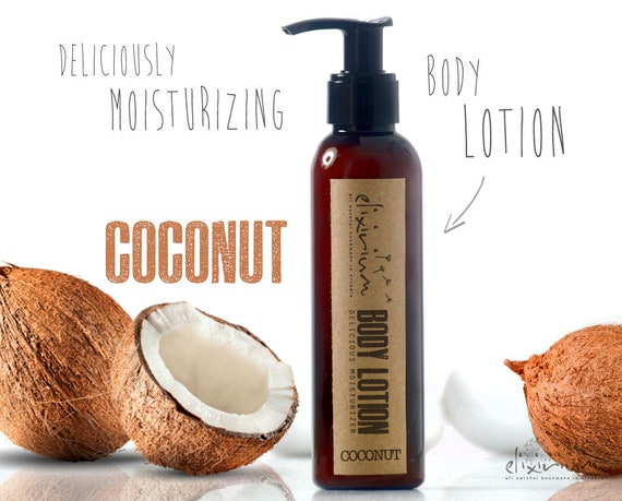 BODY LOTION Coconut • Body lotion moisturizer deliciously scented