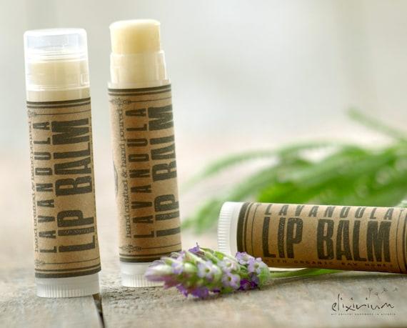 Lavandula LIP BALM ~ Lavender Organic Lip Balm~Lavender Lip butter~ Lavender Lip Balm~Lip care~lip moisturizing-organic lip treatment