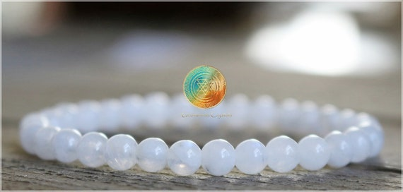 AAA Grade Peach Moonstone Crystal Bracelet,4mm Authentic Moonstone Gemstone,Brings good fortune,Success in love as well as business matters!