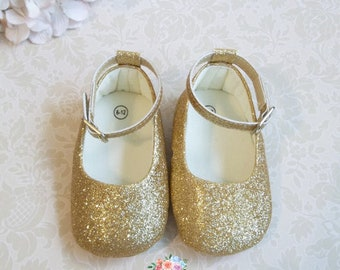 Wedding Flower Girl/'s Shoes Glitter Sparkling Chiffon Floral on Topper 4 Colors