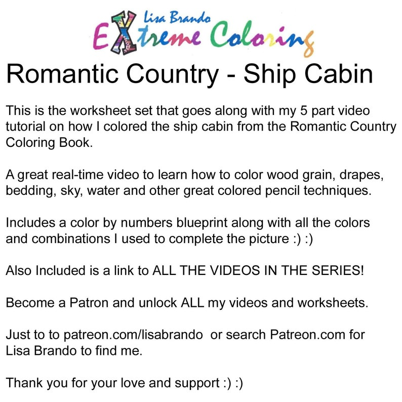 91 Romantic Country Coloring Book Tutorial Best HD