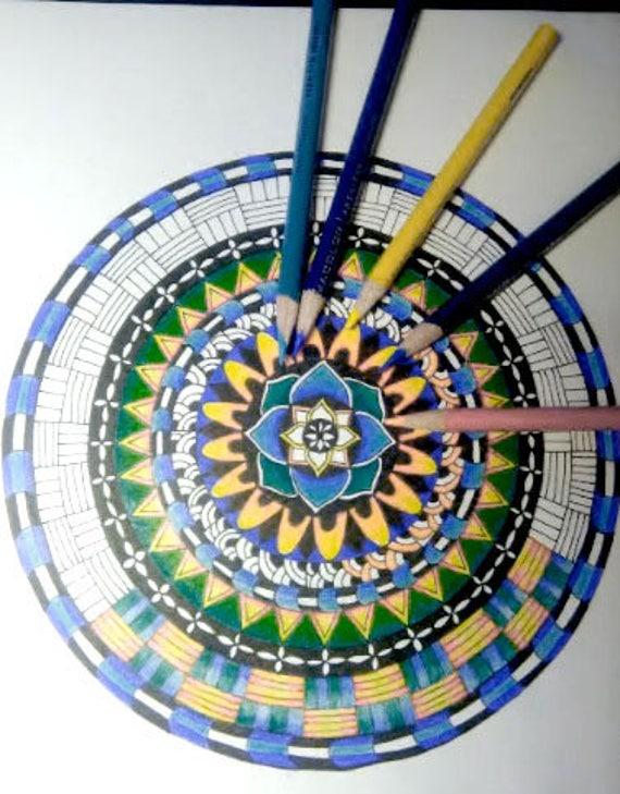 Mandala 3 Coloring Page By Lisa Brando