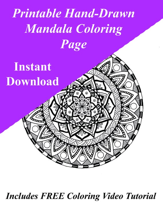 Stress Relief Coloring Pages | Super Coloring | 738x570