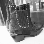 JAGGER Rocker Boots   Womens Ankle Boots / Custom Boots / Quality Leather / Leather Plaiting/ Brass buckle /stud Size: EU 36 - 41