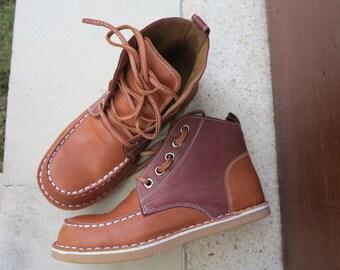 KIDS SHOES | Spencer Walker Boot/kids leather shoes/1st walker shoe/Toddler Shoes/EU 23 - 30