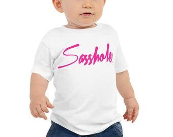 e437cb0d Sasshole® Baby Jersey Tee for Girls - 6mo.-24mo.