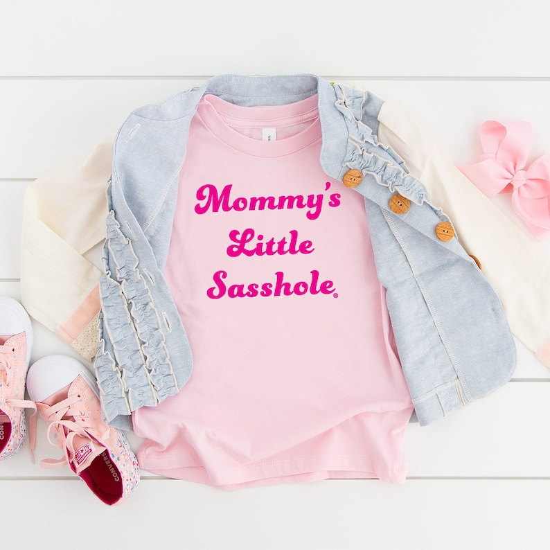 Mommy's Little Sasshole® Toddler Tshirt 2T-5T image 0