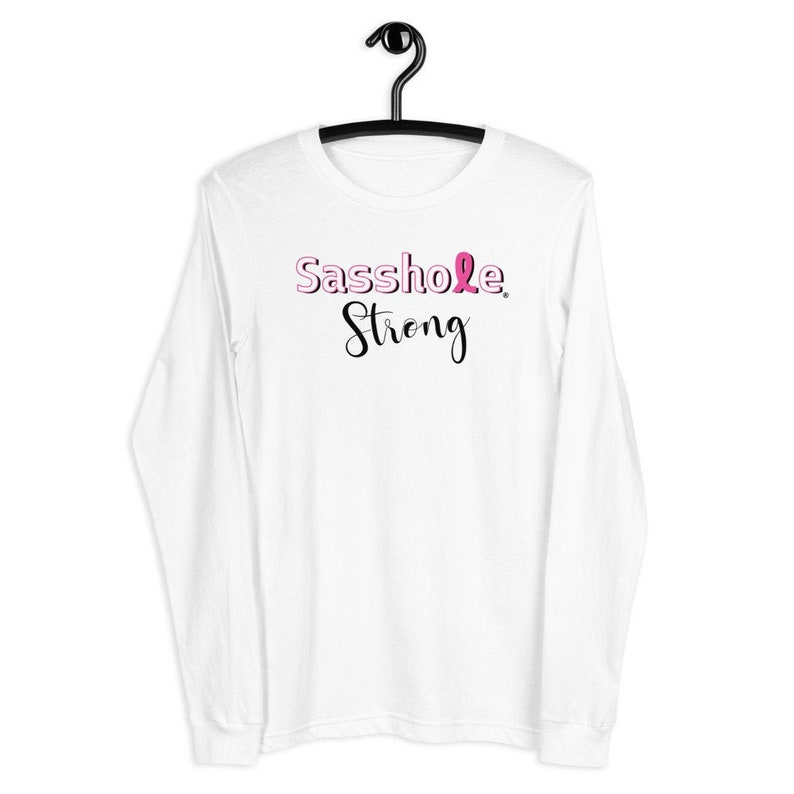Sasshole® Strong Women's Long Sleeve Tee S-2XL image 0