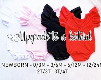 5bd9b1a1f Upgrade to a Flutter Sleeve Leotard or Flutter Sleeve Shirt- LilyandMaxCo