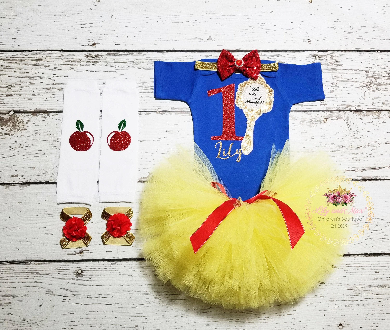 b9e8b560ace Snow White Birthday Outfit Snow White girls outfitSnow White