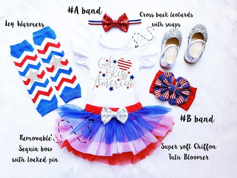 My 1st fourth tutu bloomer outfit Patriotic girls birthday first 4th of July birthday girls tutu bloomer outfit 1st July 4th girls outfit