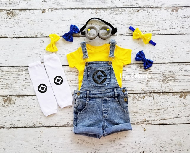 Despicable Me Costumes for Kids... Minions the Girls and GRU! 08206e3df76c