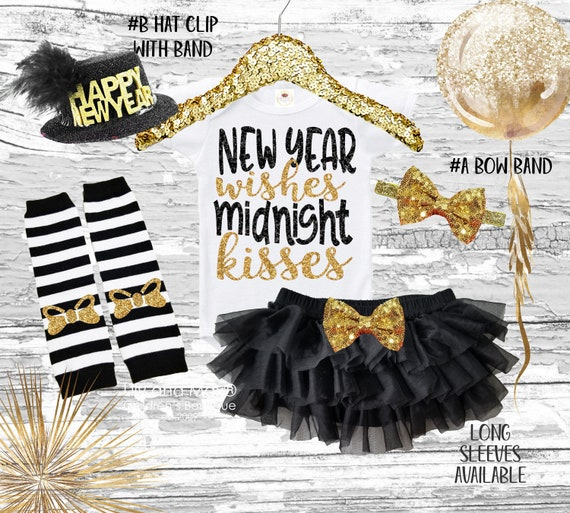 2021 New Years Eve Girls Outfitnew Years Eve Wishes Midnight Etsy