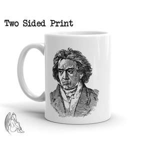 Symphony Sonata Moonlight Music Beethoven Portrait T-shirt Cute Gift Composer Classical Tee Piano