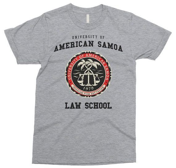 University Of American Samoa Law School T Shirt Saul Goodman Etsy Make our awesome community proud by wearing this design! university of american samoa law school t shirt saul goodman tshirt better call saul tshirt cute gift