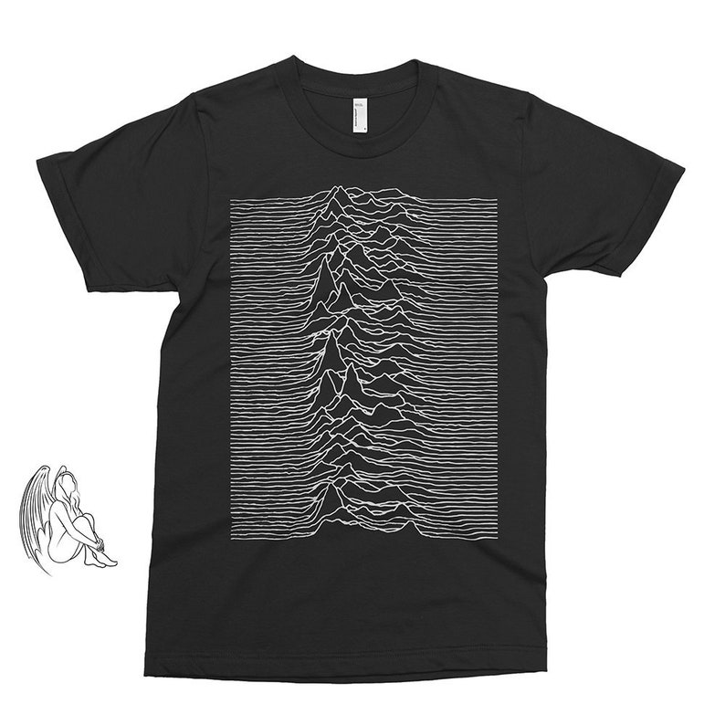 a9768ccbb Joy Division Unknown Pleasures T-shirt Tee Music Rock