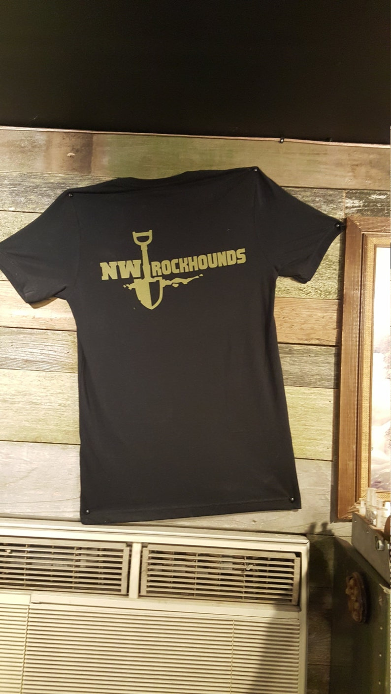 Kids Tee Shirt with the NW Rockhounds logo