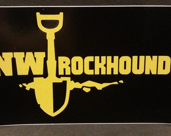 Nw Rockhounds Bumper Sticker
