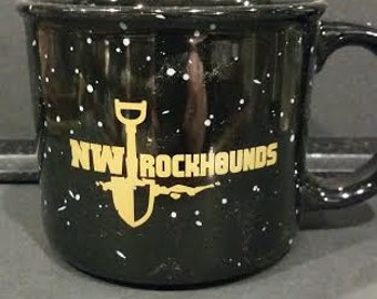 NW Rockhounds logo coffee mug