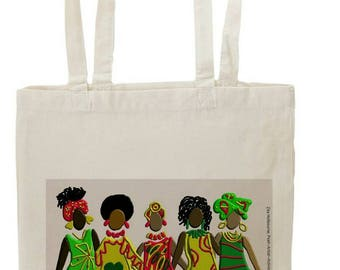 Classic Tote Bag;  Sisters Together, Ethically produced