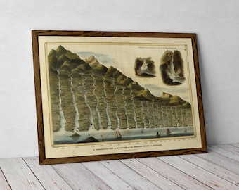 Principal Rivers of Scotland | Old Map of Scottish Rivers | Scottish Gift > Tay, Spey, Clyde, Tweed, Dee, Don, Nith, River Forth