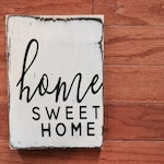SALE Mini Home Sweet Home Sign
