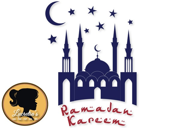 Ramadan Svg Ramadan Silhouette Dxf Svg Files For Etsy