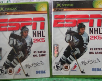 ede6a2f4a6c XBOX ESPN NHL 2K5 - Martin St Louis signed - Factory sealed