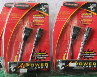 Dream Gear Universal AC Power Cord - Factory Sealed