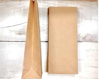 Kraft lolly bags 10 pack