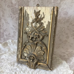Vintage 19th French Turned Wood CANOPY Towel Holder LYRE SHAPED Christmas Home Decor Viewed in Magazines J.D.L Spirit Vieille Maison Retro