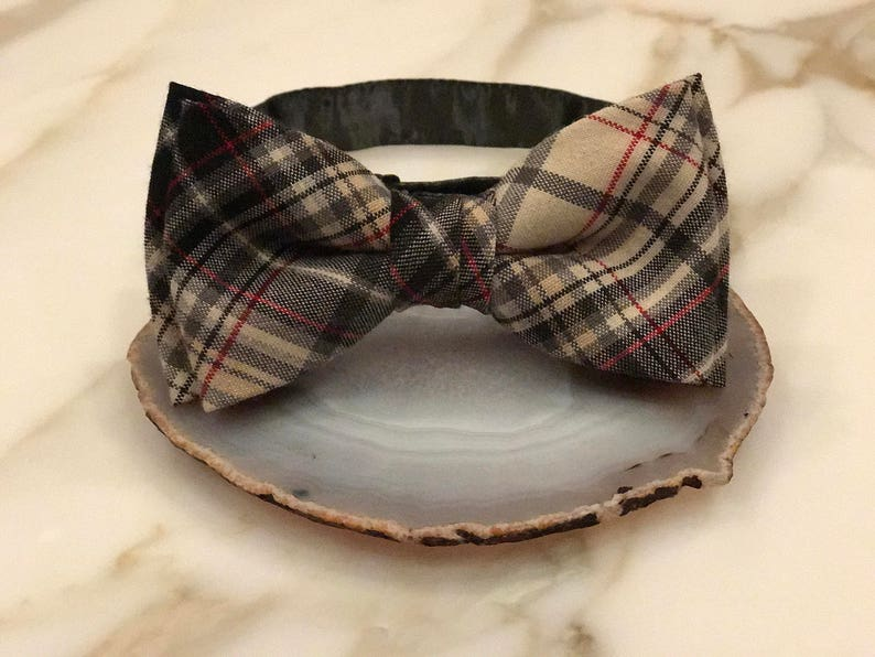 Cheap Mens Bow Tie Plaid Bow Tie Rayon Bow Tie Wedding Bow Tie Bow Tie for Men Gift for Men Gift for Dad Bow Tie Tie Bow Pre tied bow tie