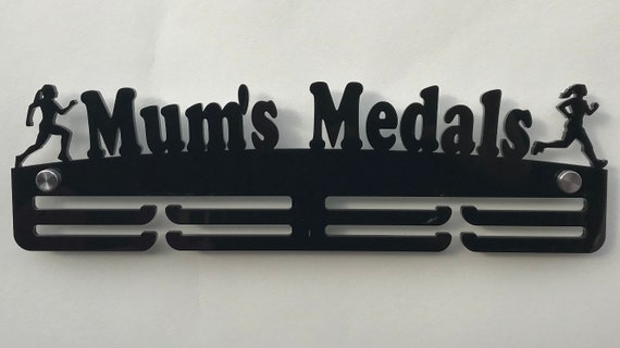 Holder Ideal Gift 5mm Thick Acrylic 3 Tier DAD/'S MEDALS Medal Hanger// Rack