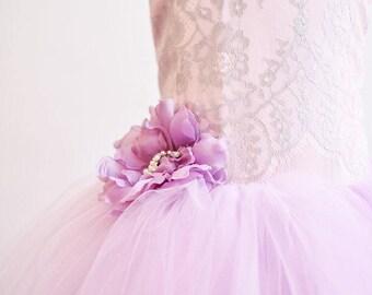32eb68c0a2d Wisteria Lace Tutu Dress
