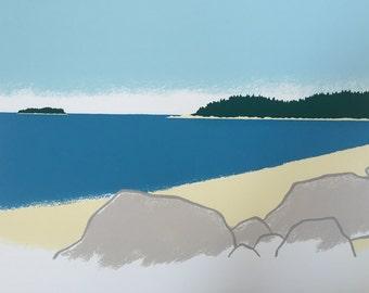 16'' x 12.5'' Island Rocks