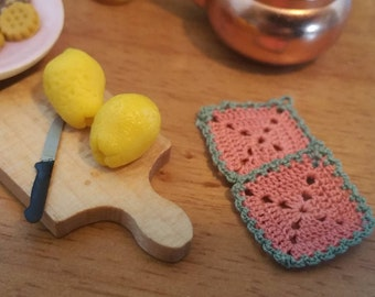 Micro crochet potholders (2 peaces)