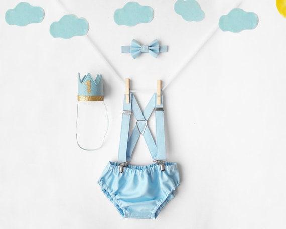 Sensational Baby Blue Cake Smash Outfit Boy 1St Birthday Outfit Boy Cake Etsy Personalised Birthday Cards Vishlily Jamesorg
