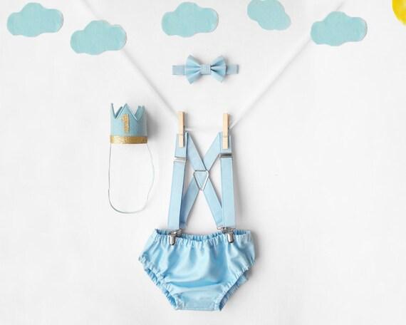 Fine Baby Blue Cake Smash Outfit Boy 1St Birthday Outfit Boy Cake Etsy Personalised Birthday Cards Petedlily Jamesorg