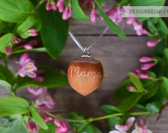 HaselKuss Mother's Day chain mom engraving #Z183