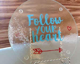 Follow Your Heart - Cutting Board - Trivet
