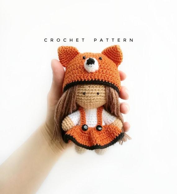 My Crochet Doll: A fabulous crochet doll pattern with over 50 cute ... | 623x570